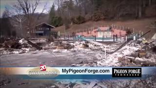 Pigeon Forge: Recovering from the wild fire