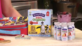 Stonyfield: Kids eat healthy